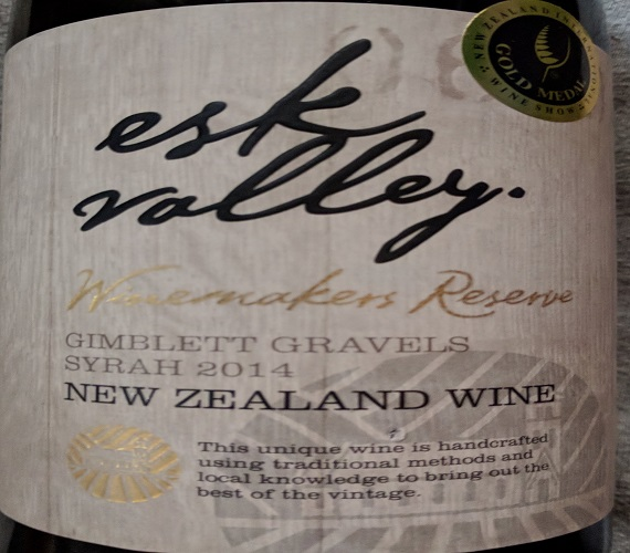 Video Review: Esk Valley 2014 Winemakers Reserve Syrah (New Zealand)