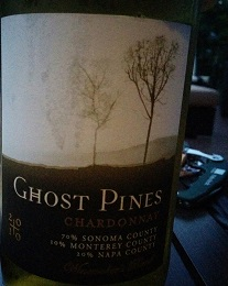 Ghost Pines 2010 Chardonnay